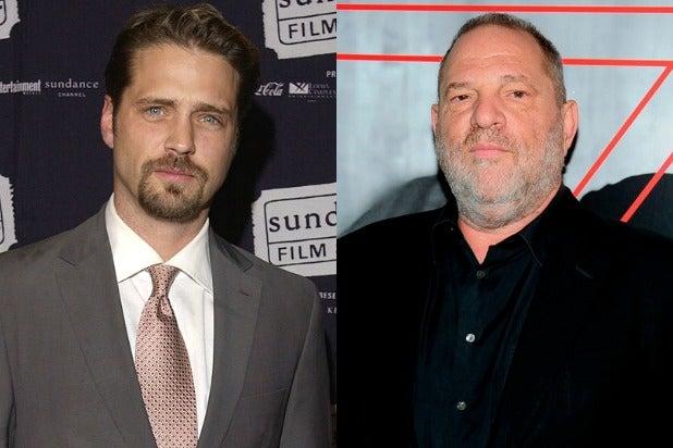 Jason Priestley Harvey Weinstein