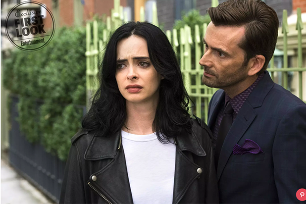 Jessica Jones First Look Entertainment Weekly