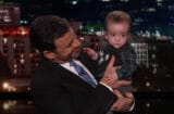 Jimmy Kimmel with son Billy