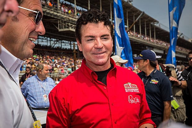 Papa John's founder steps down after blaming anthem protests for slumping sales