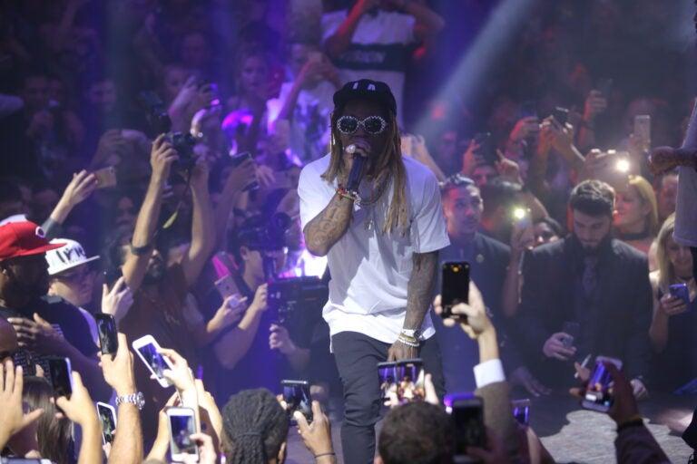Lil Wayne Art Basel