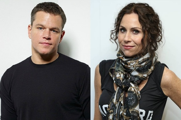 Matt Damon Minnie Driver