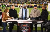 ESPN Monday Night Football Hosts Suzy Kolber, Steve Young, Randy Moss, Matt Hasselbeck and Charles Woodsen