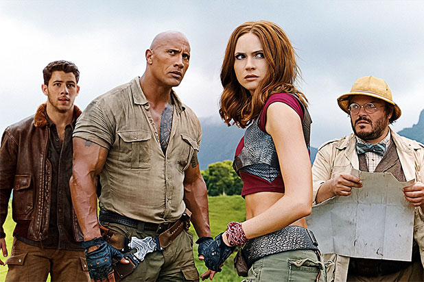 'Jumanji' Regains Top Spot for Modest Super Bowl Weekend