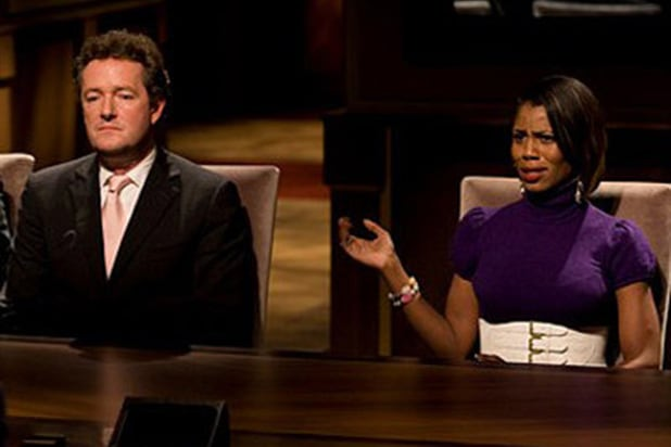 Omarosa Piers Morgan The Apprentice