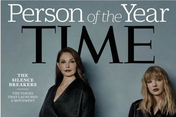 Time Magazine's Person of the Year is the #metoo movement