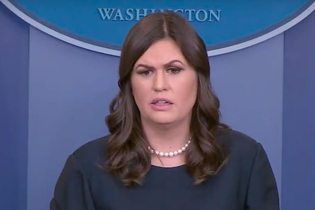 Image result for After Reporters Corner Her With Accusations, Sarah Huckabee Silences Them With Facts