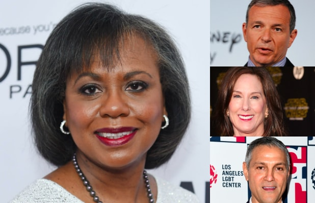 anita hill bob iger kathleen kennedy ari emanuel sexual harassment commission