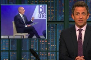 Seth Meyers on Matt Lauer