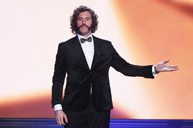 TJ Miller 22nd Annual Critics' Choice Awards Show