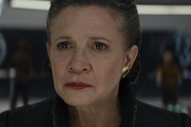 star wars the last jedi director says carrie fisher wrote