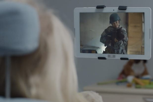 black mirror arkangel men against fire reference