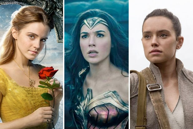 MPAA female women box office 2017 beauty beast wonder woman star wars last jedi