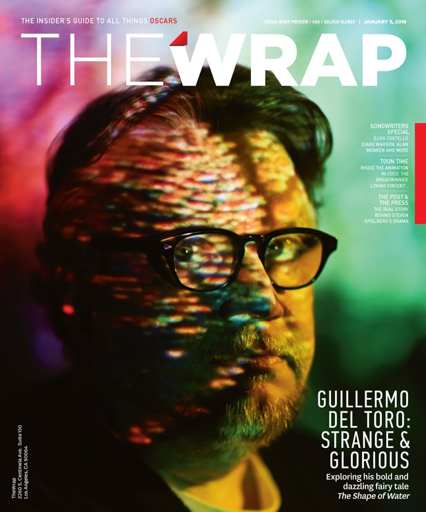 OscarWrap Guillermo del Toro Cover Photographed by Irvin Rivera for TheWrap