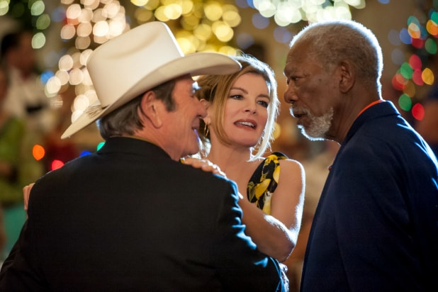 Just Getting Started Film Review Morgan Freeman And Tommy Lee