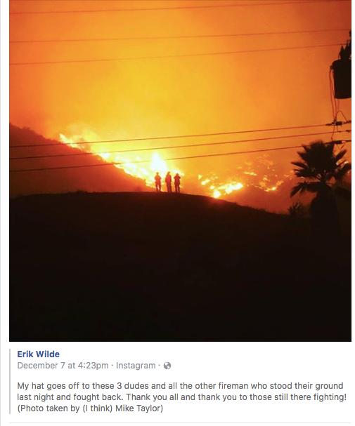 ojai fire map