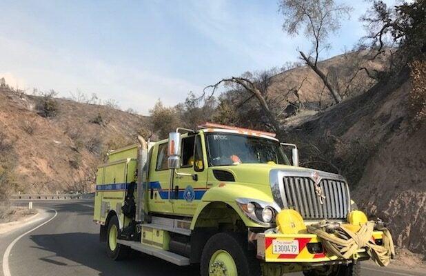 ojai fire truck 2017