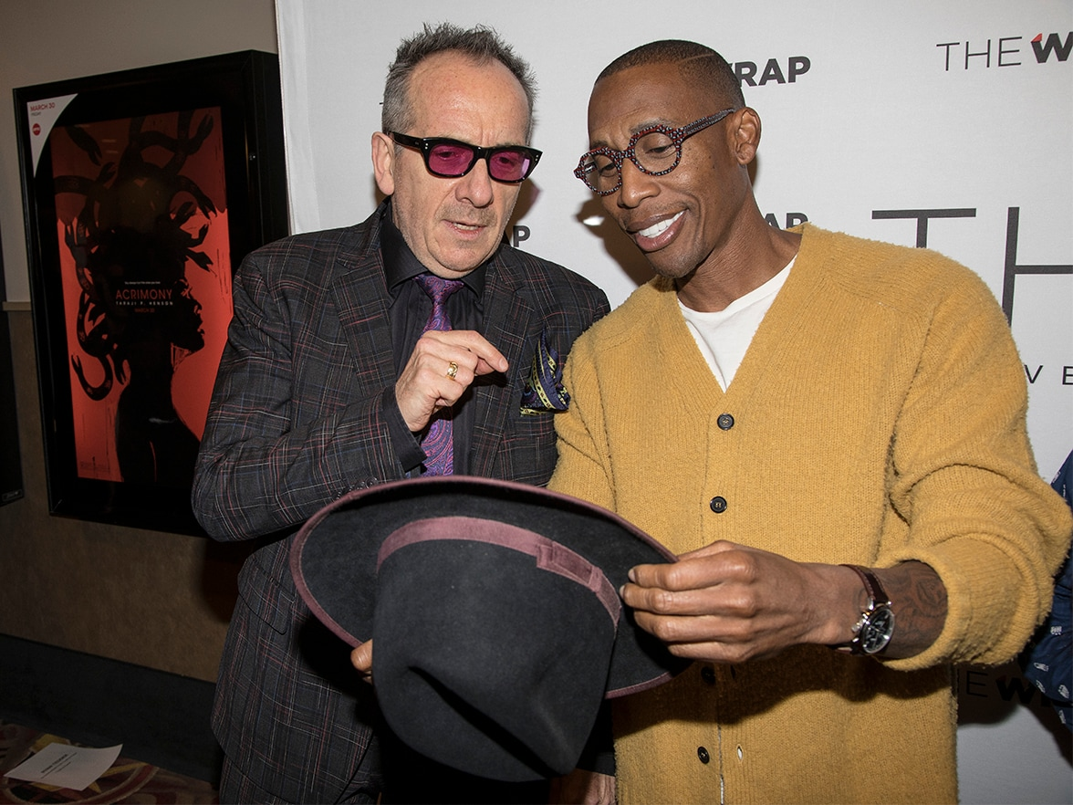Best Original Song Contender Panel Elvis Costello and Raphael Saadiq