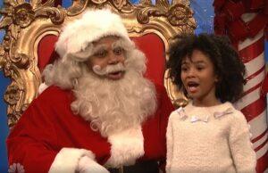 snl saturday night live kenan thompson santa children ask political questions