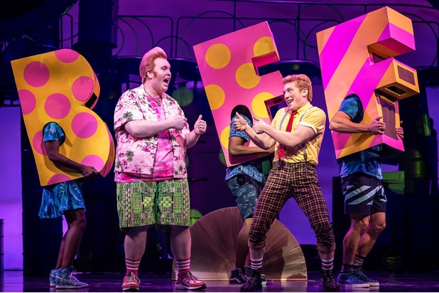 spongebob squarepants musical broadway