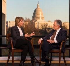 Morton Halperin talks to Sharon Waxman