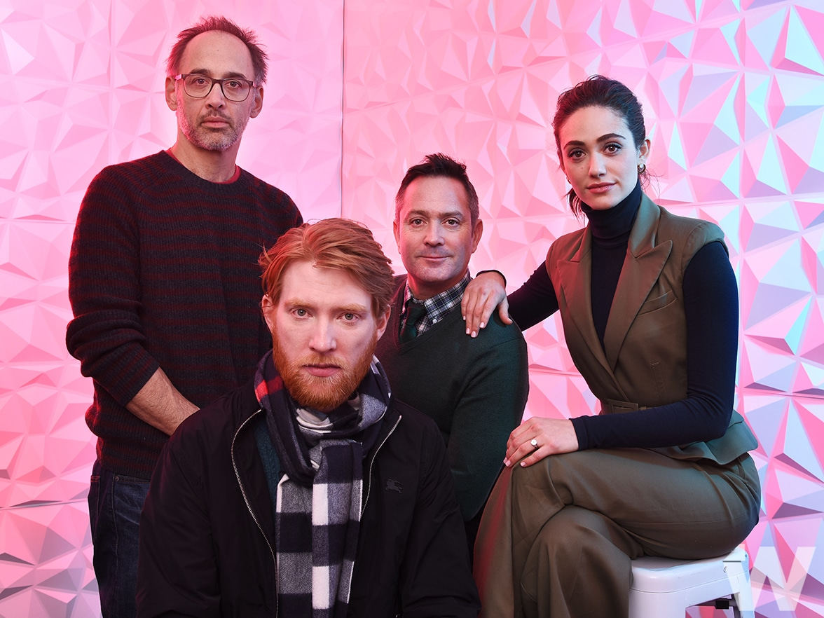 David Wain Domhnall Gleeson Tom Lennon and Emmy Rossum A Futile and Stupid Gesture