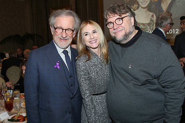 AFI Steven Spielberg, Holly Hunter, Guillermo del Toro