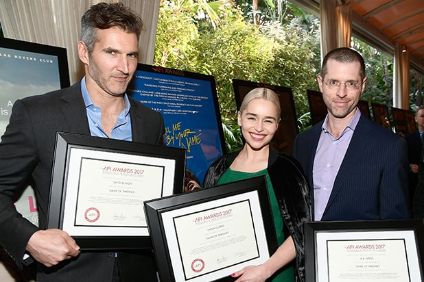 "AFI Lunch ""Game of Thrones"" star Emilia Clarke"