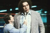 Andre the Giant and Vince McMahon