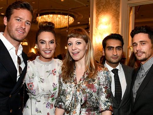 Bafta Awards Tea - _0003_Armie Hammer, Elisabeth Chambers, Emily Gordon, Kumail Nanjiani, James Franco