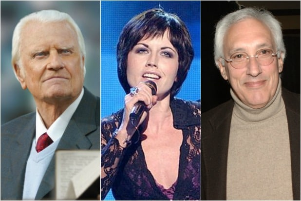 "Billy Graham Dolores ORiordan Steven Bochco ""title ="" Billy Graham Dolores ORiordan Steven Bochco ""class ="" image ""data-src ="" https://www.thewrap.com / wp-content / uploads / 2018/01 / BillyGrahamDoloresORiordanStevenBochco.jpg ""/>    <div class="