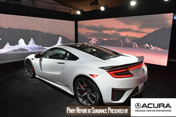 sundance 2018 augmented reality art inside the nsx gallery at the acura lounge sundance 2018 augmented reality art