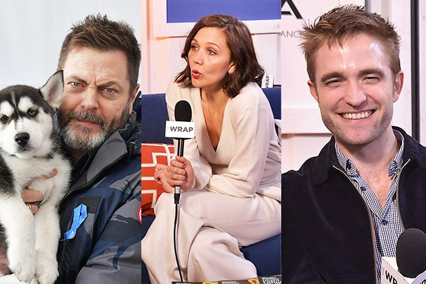 Nick Offerman, Maggie Gyllenhaal, Robert Pattinson