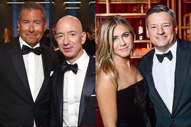 COVER - Richard Plepler, Jeff Bezos, Jennifer Aniston, Ted Sarandos