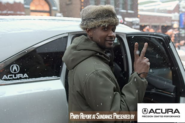 PARK CITY, UT - JANUARY 20: Singer Usher is seen at the 2018 Sundance Film Festival on January 20, 2018 in Park City, Utah. (Photo by Bryan Steffy/GC Images)