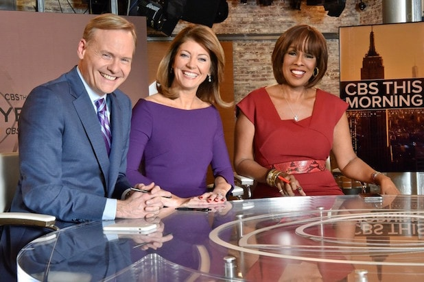 John Dickerson Gayle King Norah O'Donnell CBS This Morning