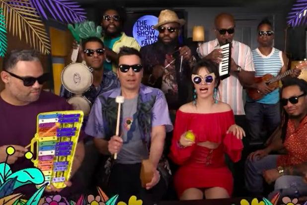 Camila Cabello Performs 'Havana' on Toys With Jimmy Fallon