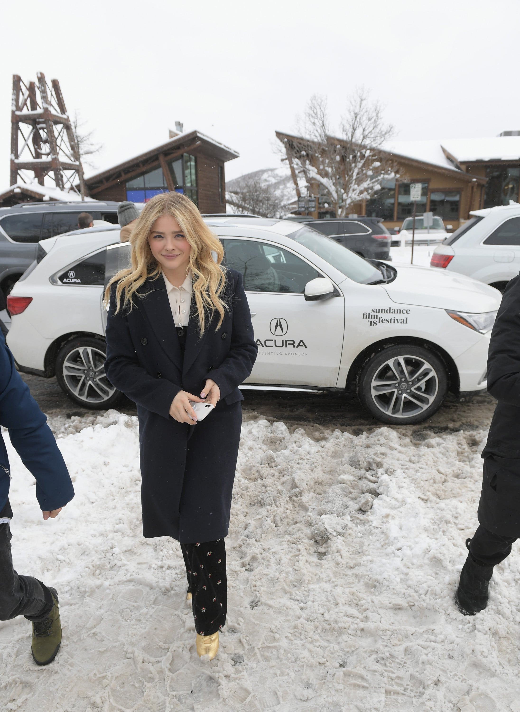 Celebrity Sightings In Park City Chloe Grace Moretz