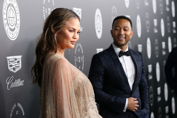 Chrissy Teigen and John Legend Art of Elysium