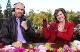 Will Ferrell Molly Shannon Cord and Tish Rose Parade 2018