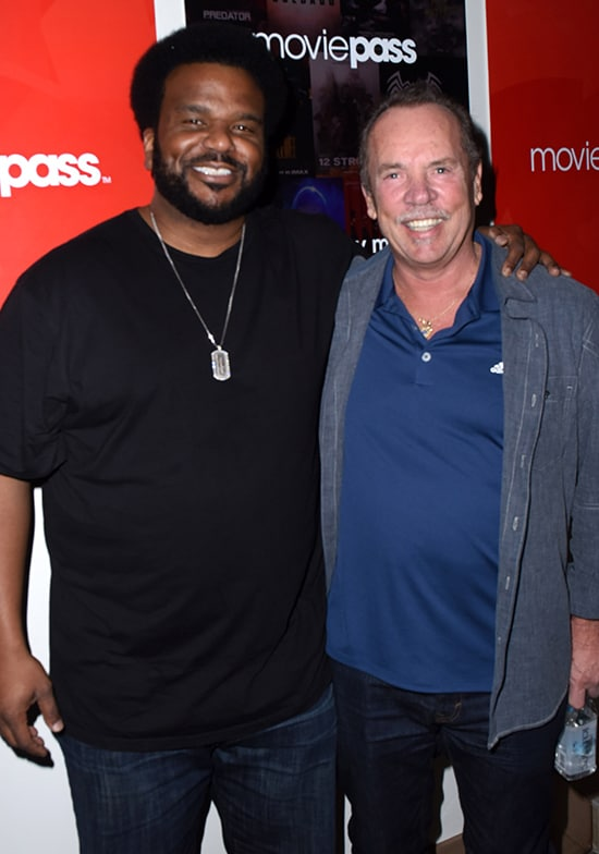 Craig Robinson, Mitch Lowe Moviepass
