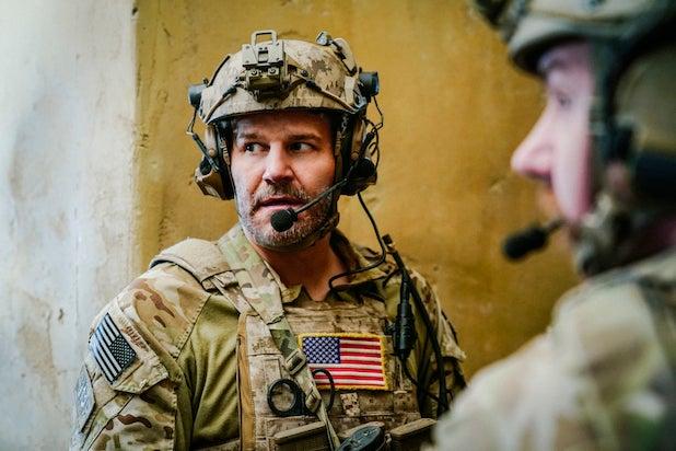 David Boreanaz SEAL Team