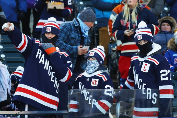 2018 Nhl Winter Classic 14 Things You Didn T See On Tv
