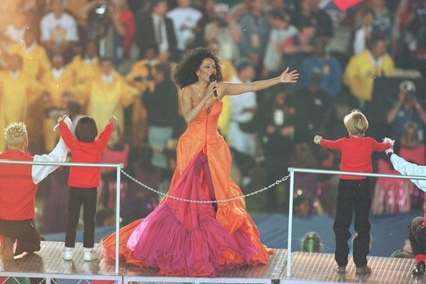 Diana Ross Super Bowl Halftime