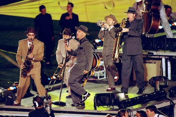 Big Bad Voodoo Daddy Super Bowl Halftime
