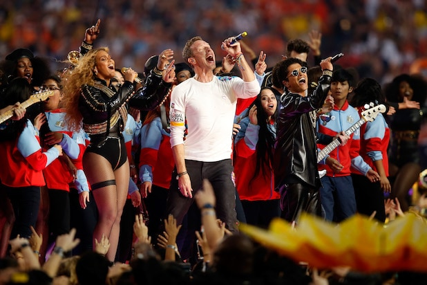 Coldplay Super Bowl Halftime