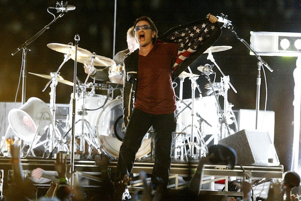 U2 Super Bowl Halftime Bono