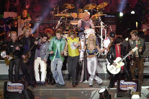 Aerosmith NSYNC Super Bowl Halftime