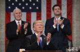 Donald Trump SOTU clap