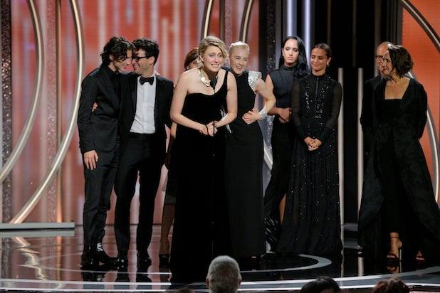 Golden Globes Lady Bird